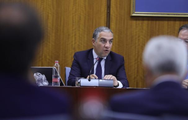 El consejero de Presidencia, Elías Bendodo, este jueves