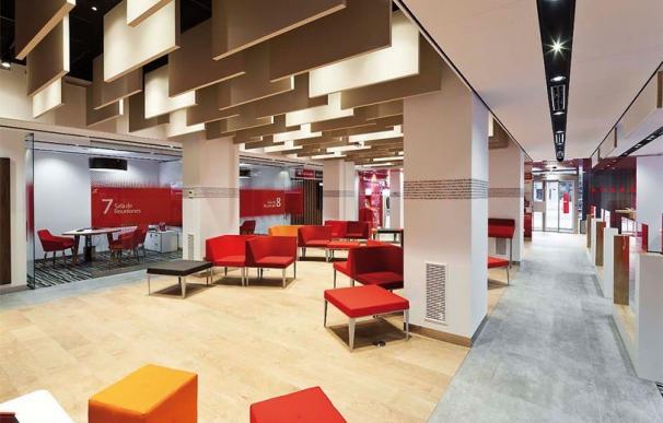 Oficina Smart Red de Banco Santander