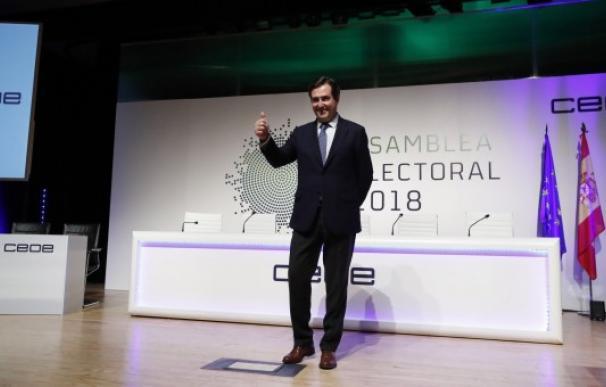 El presidente de CEOE, Antonio Garamendi / EFE