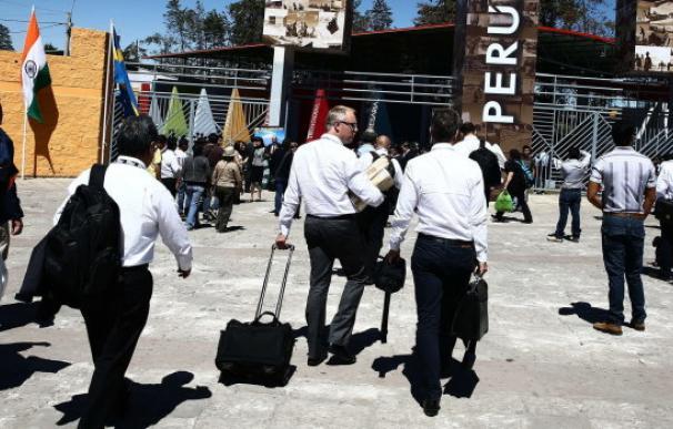 Fotografía directivos en el extranjero / EFE