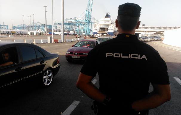 La Policía Nacional inicia junto a Frontex la Operación Minerva 2017 en los puertos de Algeciras, Tarifa y Ceuta