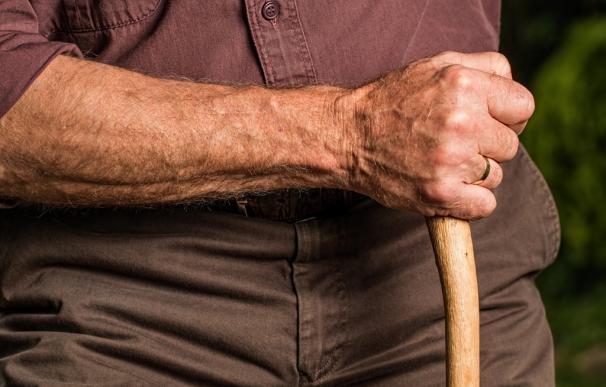 Fotografía de un persona jubilada.