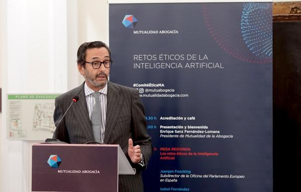 presidente de la Mutualidad de la Abogacía, Enrique Sanz Fernández-Lomana