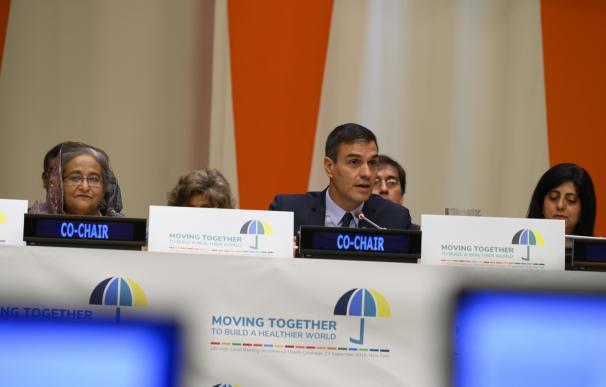 Pedro Sánchez en la ONU
