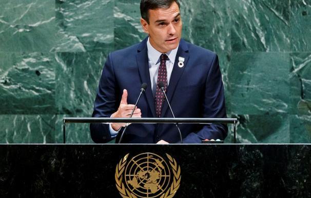 Sánchez en la ONU