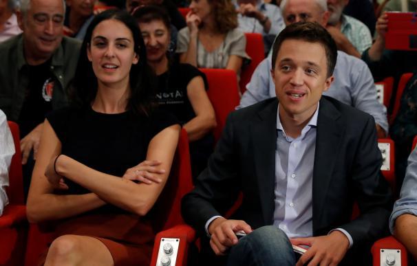 Iñigo Errejón durante la presentación de Más Madrid. / EFE
