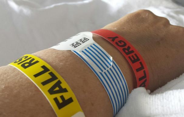 Fotografía de un hombre en el hospital