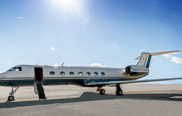 El avion G550 de Telefónica en venta