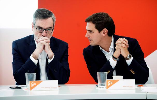 Albert Rivera y José Manuel Villegas