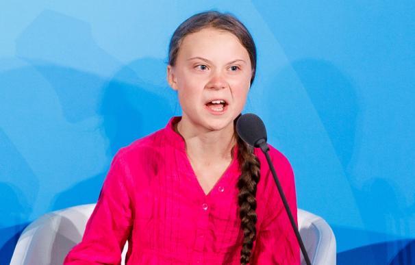 Greta Thunberg, en la ONU