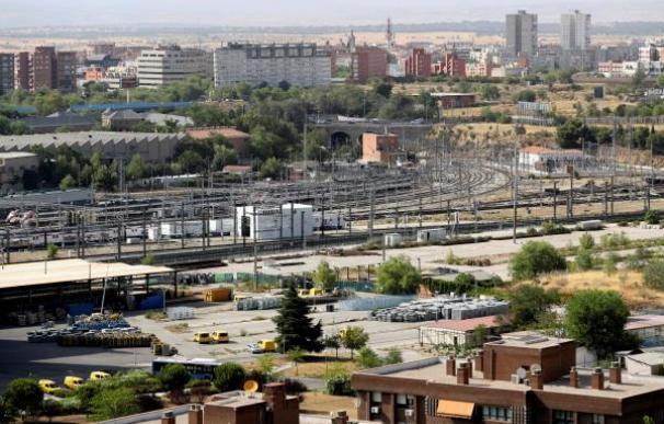Fotografía viales Estación Chamartín / EFE
