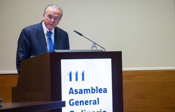 """Isidro Fainé, presidente de CECA y de la Fundación """"la Caixa"""""""