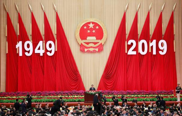 Acto de celebración del 70 aniversario de la constitución de la República Popular de China