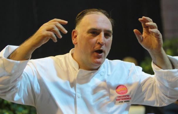 El chef José Andrés cree prioritario que haya más producto español en el mundo