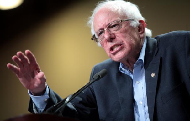 Bernie Sanders, el candidato más a la izquierda de los demócratas.