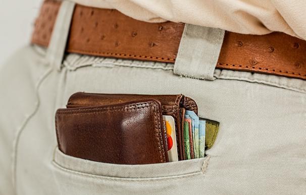 Fotografía de tarjetas de crédito.