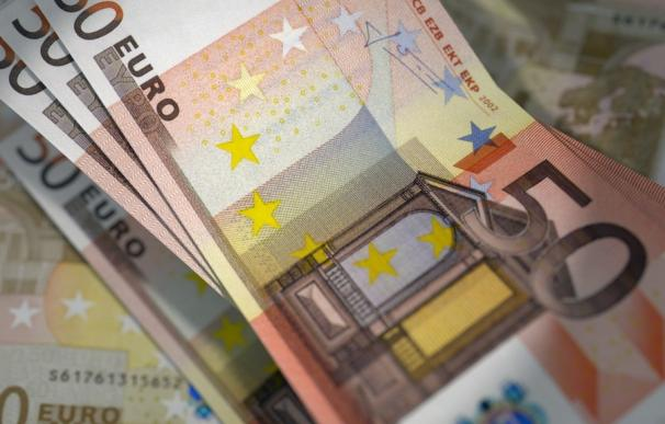 Fotografía de billetes de 50 euros.
