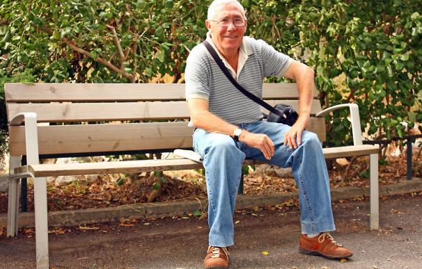 Fotografía de un jubilado.