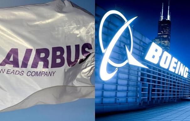 Airbus aventaja a Boeing con 30 pedidos más en el primer semestre
