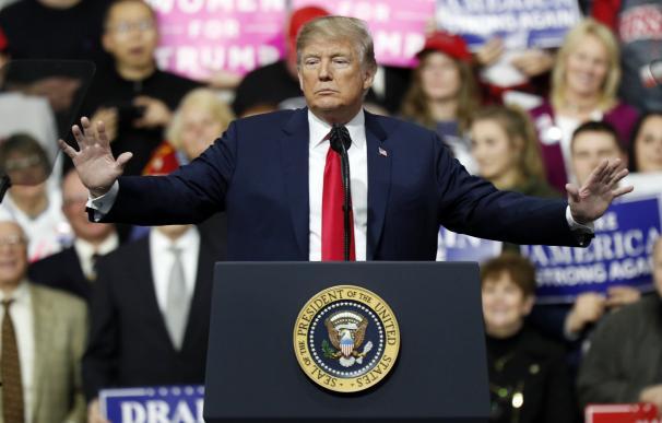 Trump presume de aranceles