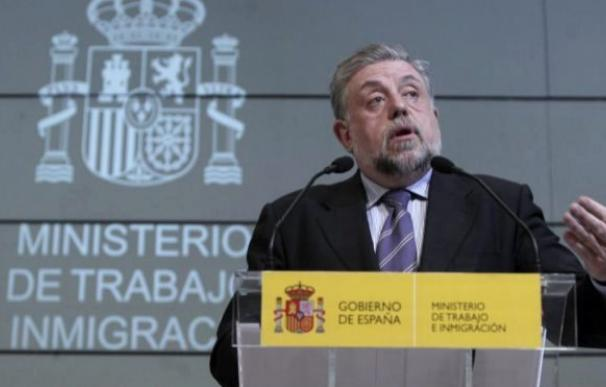 Octavio Granado, en el Ministerio / EFE