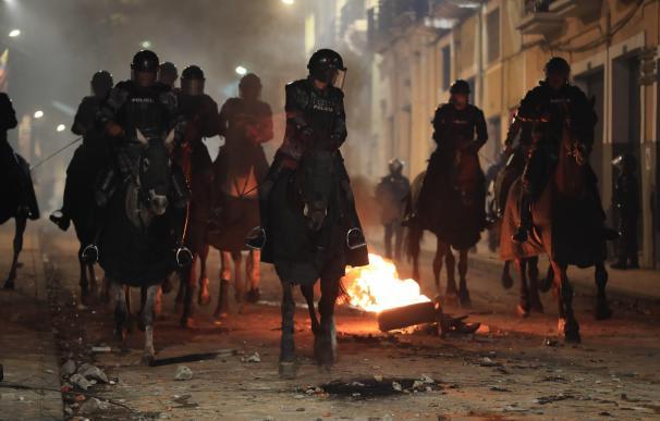 estado de excepción Ecuador protestas