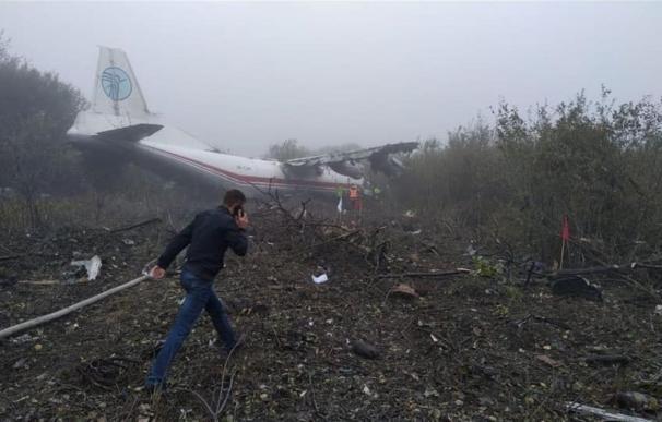 Accidente de avión Ucrania
