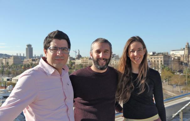 Los tres cofundadores de Holaluz.