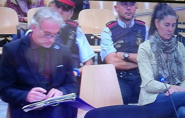 Fernando Blanco y Margarita Garau durante el juicio