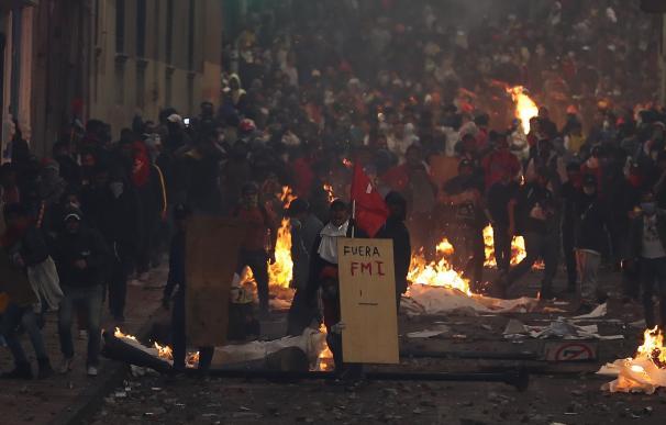 Protestas Ecuador 08/10/2019