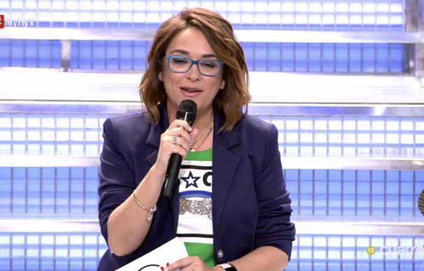 Toñi Moreno en 'Mujeres y hombres y viceversa'