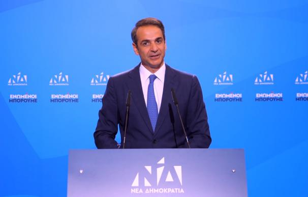 Kyriakos Mitsotakis obtienen mayoría absoluta en Grecia