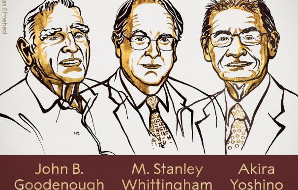 Los ganadores del Nobel de Química. /Premios Nobel