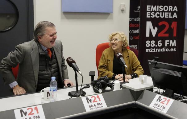 Manuela Carmena, en M21 Radio