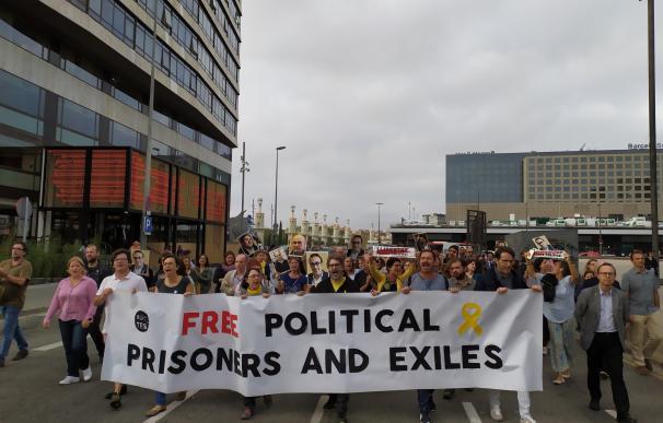 Manifestaciones Cataluña sentencia procés