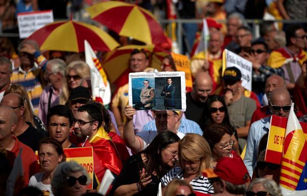 Manifestaciones en Cataluña./ EFE