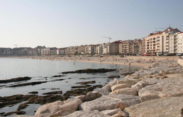 El precio del alquiler en primera línea de playa desciende en Galicia un 20% con respecto a 2008