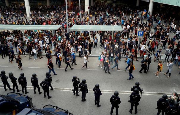 Protestas tras el fallo del Procés