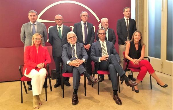 Josep Sánchez Llibre y la dirección de Foment del Treball