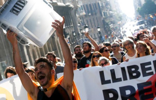 Cataluña protestas ancha