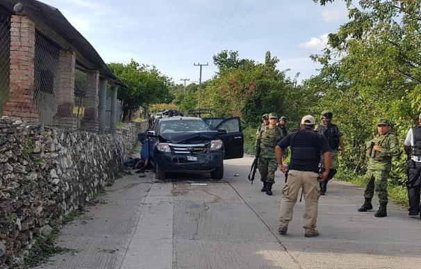 México violencia policías