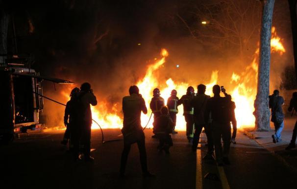 Un detenido en Cataluña durante los disturbios tiene antecedentes por terrorismo