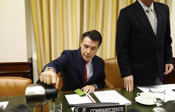 Ignacio González comparece en la comisión sobre la financiación del PP