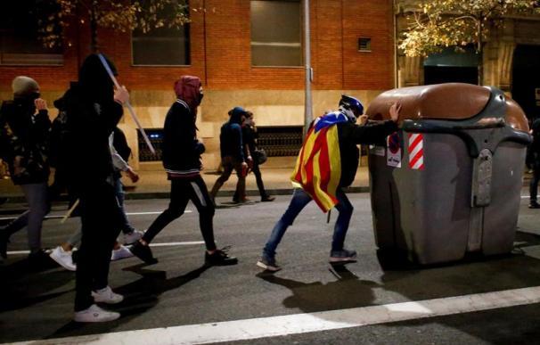 Protestas, ola de violencia, Cataluña