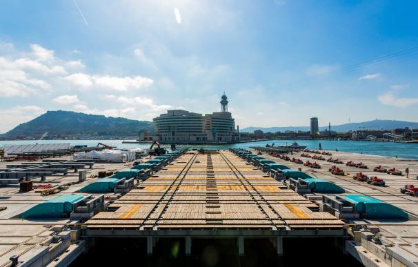 Puerto de Barcelona. /Europa Press