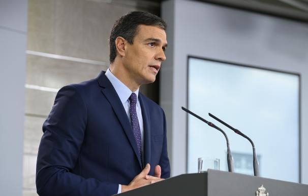 Así fue el día D en Moncloa: Sánchez, seis ministros, Redondo y Abogacía activada