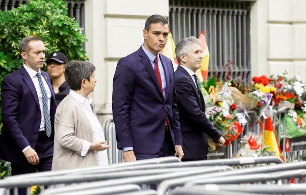 Pedro Sánchez en Cataluña. /EFE