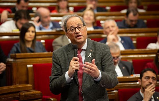 Quim Torra, Generalitat, Cataluña, Govern
