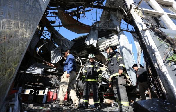 Destrozos en Santiago de Chile en la cuarta jornada de protestas