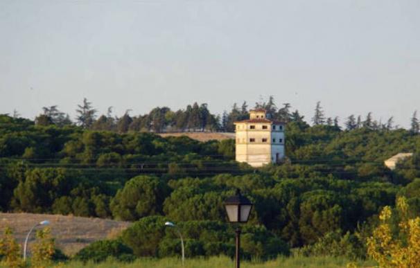 Vista desde la carretera de la Finca Valdelasfuentes, Arroyomolinos.
